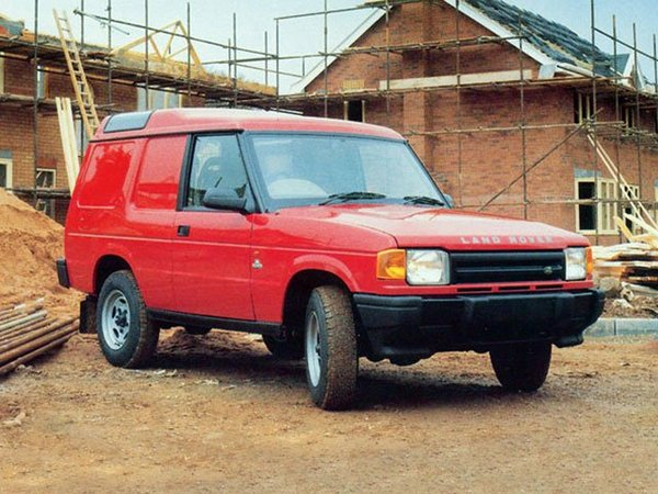 Photo land rover discovery 1994