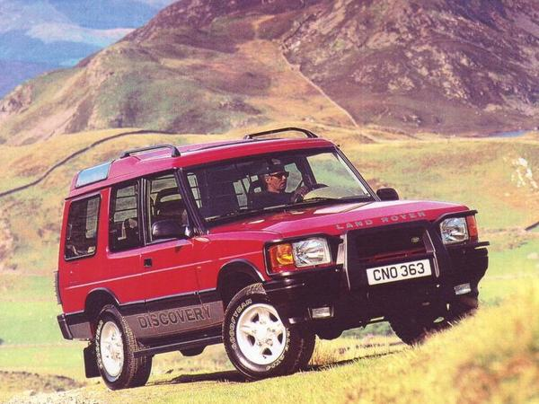 Photo land rover discovery 1993
