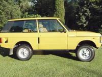 Photo Range Rover Fourgon