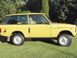 Land Rover Range Rover Fourgon