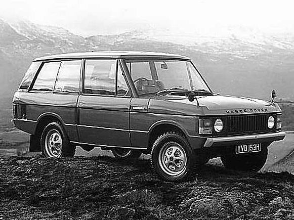 Photo land rover range rover 1987