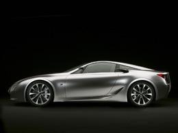 Lexus Lf-a Concept Coupe