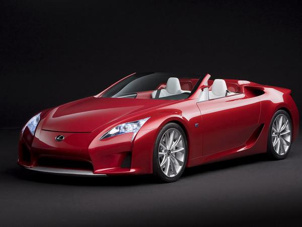 LexusLf-a Concept Roadster