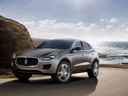 MaseratiKubang Concept