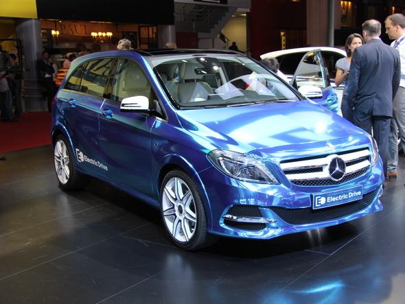MercedesClasse B Electric Concept