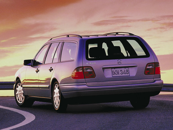 Photo mercedes classe e 1997