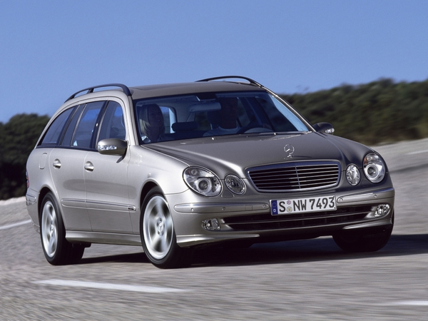 Photo mercedes classe e 2004