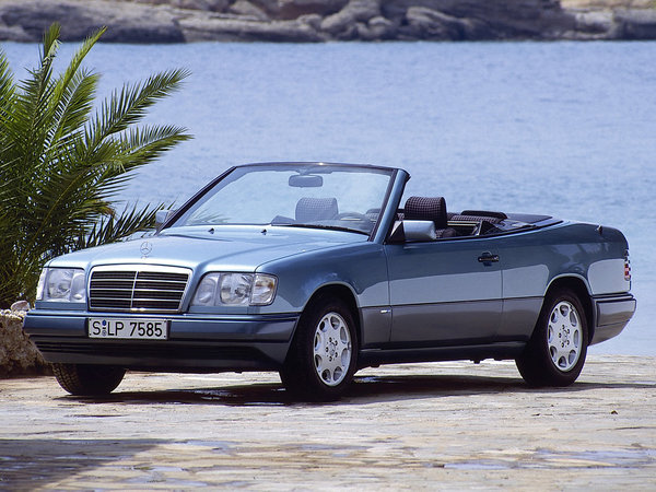argus mercedes classe e 1994 cabriolet 220 bva. Black Bedroom Furniture Sets. Home Design Ideas