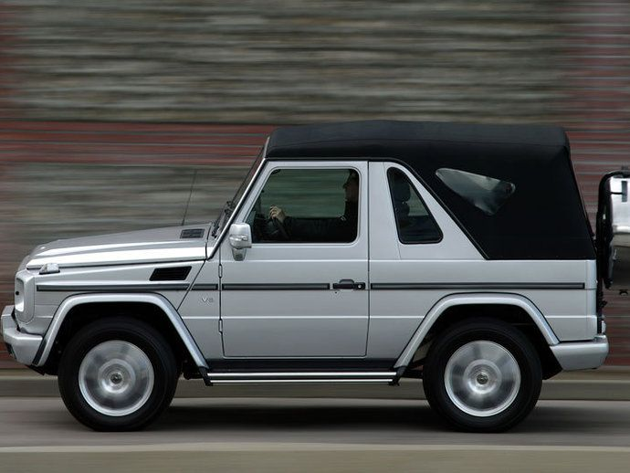 Photo mercedes classe g 1992