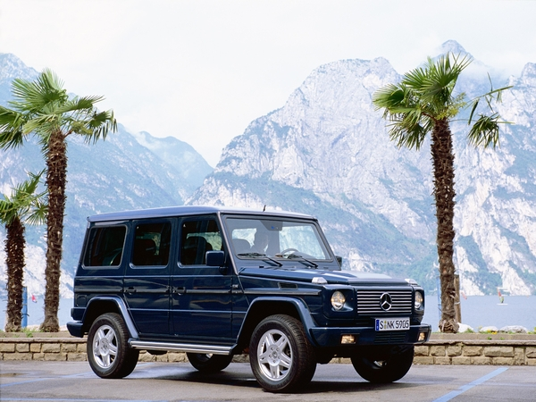 Photo mercedes classe g 2009