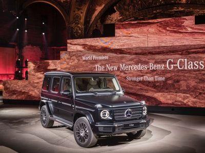 mercedes le nouveau classe g re oit un moteur diesel. Black Bedroom Furniture Sets. Home Design Ideas