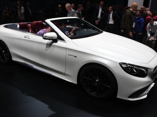 Mercedes Classe S 7 Cabriolet