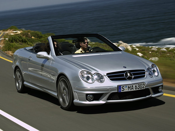 fiche technique mercedes clk ii cabriolet 63 amg. Black Bedroom Furniture Sets. Home Design Ideas