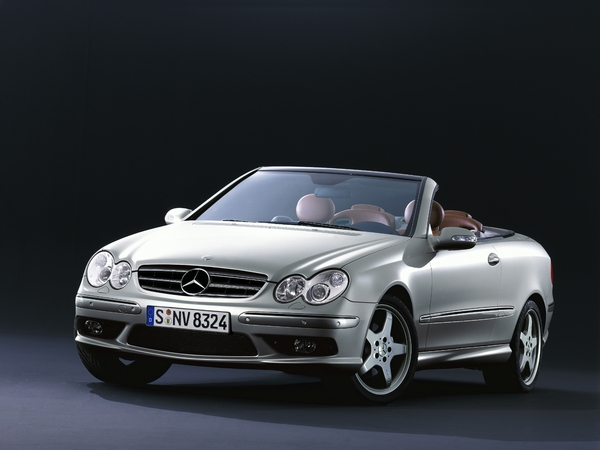 Photo mercedes clk 2004