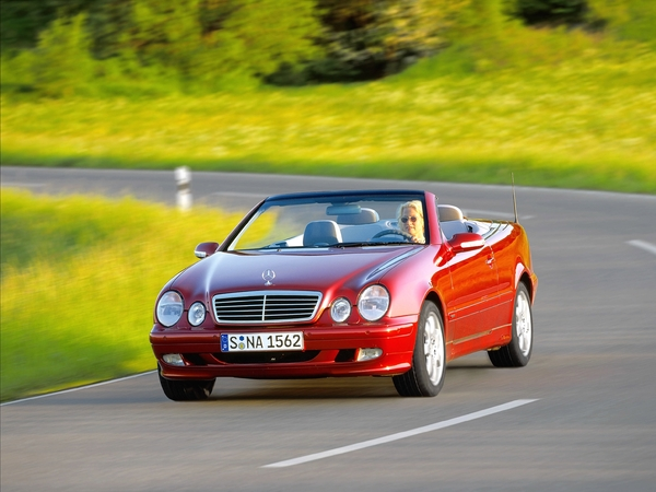 Photo mercedes clk 2001