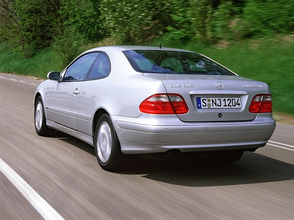 Photo mercedes clk 2000
