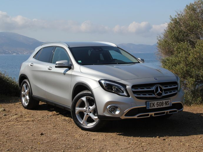 Photo mercedes gla 2020