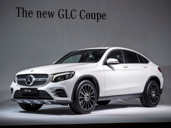 Photo mercedes glc coupe