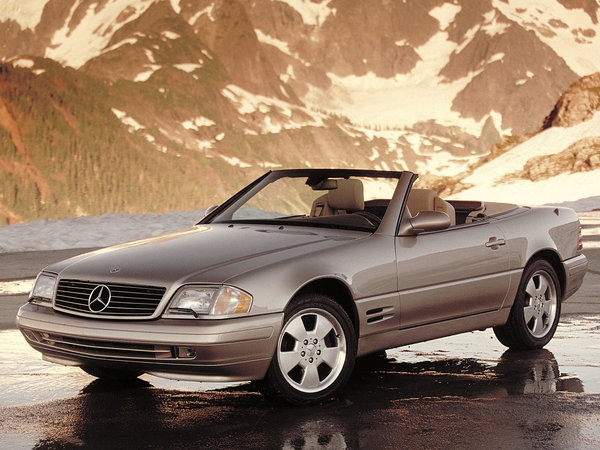 Photo mercedes sl 1988