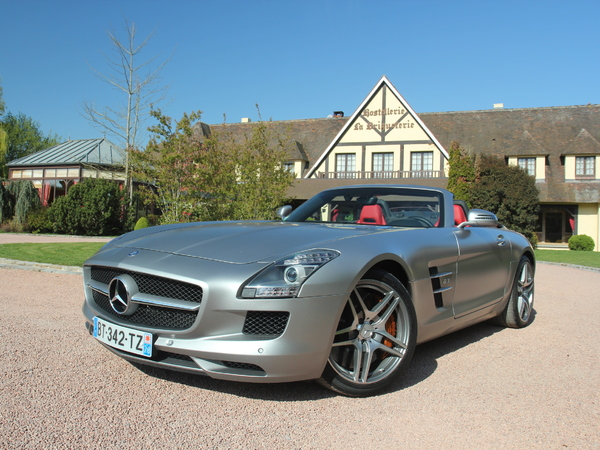 mercedes sls amg roadster essais fiabilit avis photos vid os. Black Bedroom Furniture Sets. Home Design Ideas