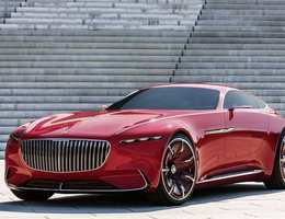 Mercedes Vision Mercedes-maybach 6