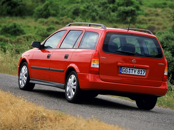 Photo opel astra 1999