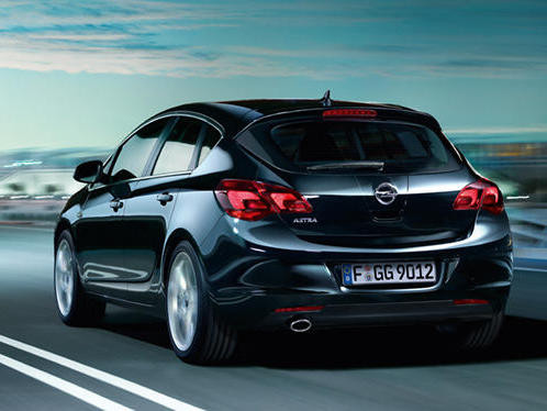 Photo opel astra 2012