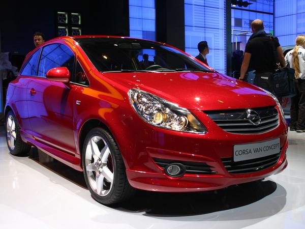 OpelCorsa Van Concept
