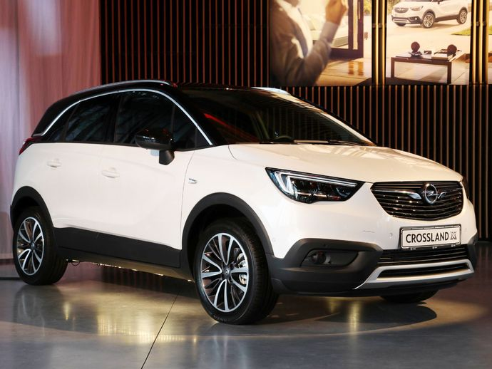 fiche technique opel crossland x 1 6 diesel 120 innovation 2017 la centrale. Black Bedroom Furniture Sets. Home Design Ideas