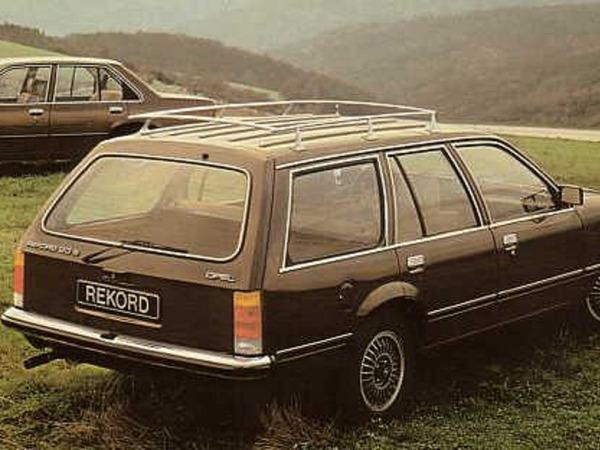 Opel Rekord Caravan