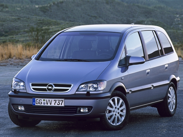 Photo opel zafira 2005