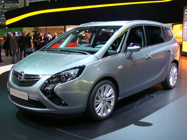 Photo opel zafira tourer 2013
