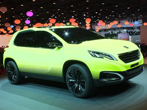 Peugeot2008 Concept