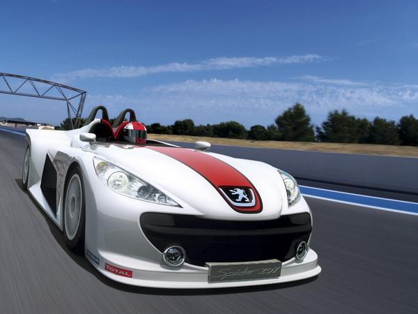 Peugeot207 Concept Spider