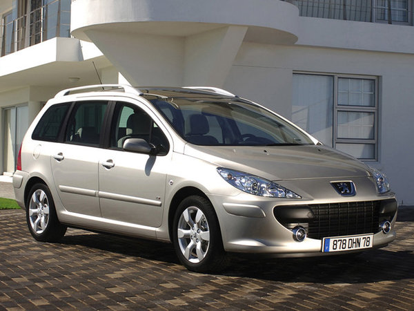 argus peugeot 307 2006 sw 1 6 hdi 110 navteq on board. Black Bedroom Furniture Sets. Home Design Ideas