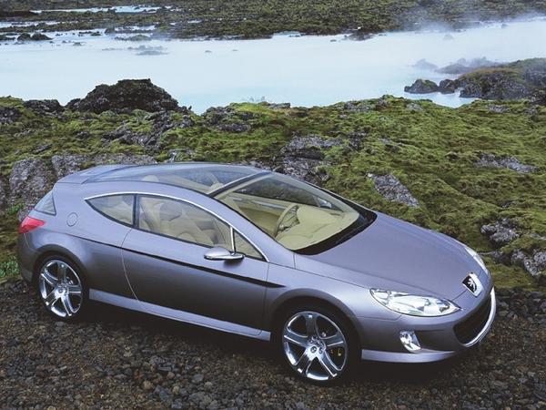 Peugeot407 Concept Elixir