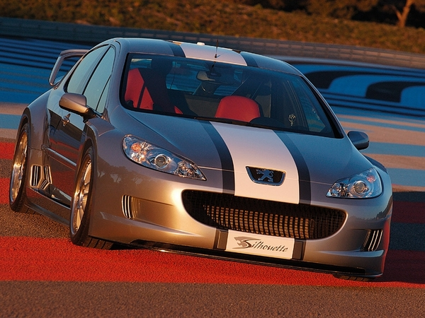 Peugeot407 Concept Silhouette