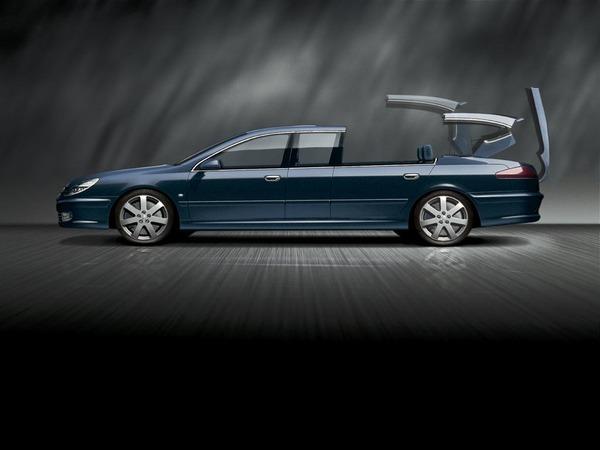Peugeot607 Concept Paladine