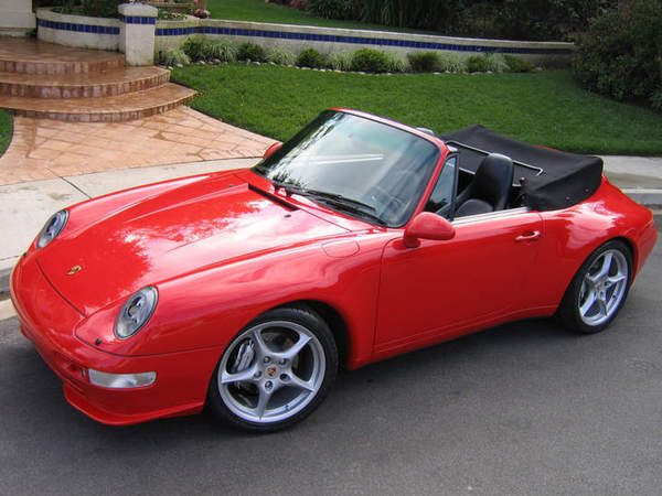 argus porsche 911 1997 993 cabriolet carrera s tiptronic. Black Bedroom Furniture Sets. Home Design Ideas