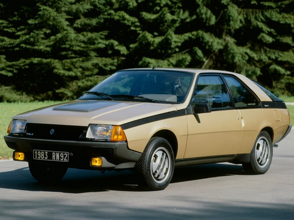 Photo renault fuego 1986