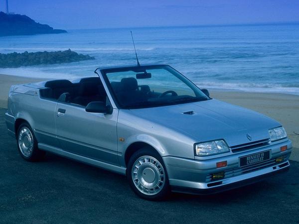 argus renault r19 1992 cabriolet. Black Bedroom Furniture Sets. Home Design Ideas