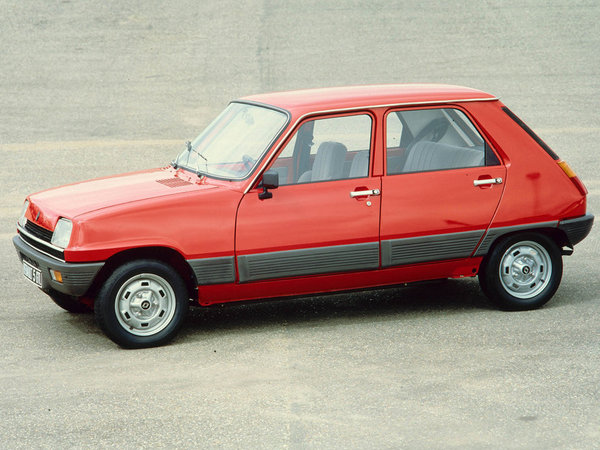 Photo renault r5 1986