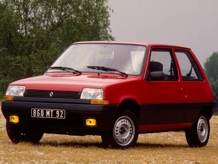 Photo renault super 5 1994