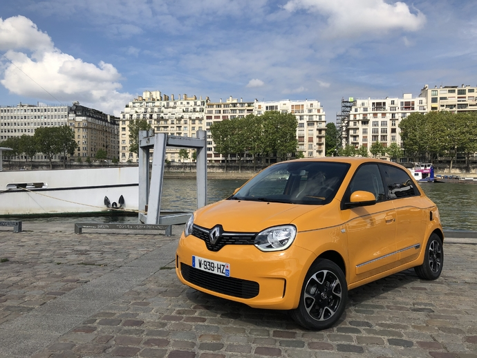 Photo renault twingo 2018
