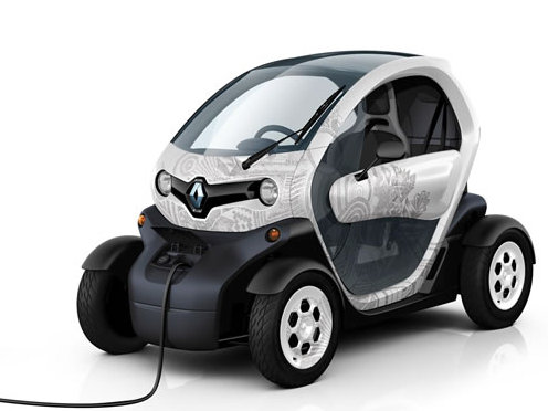Photo renault twizy 2012