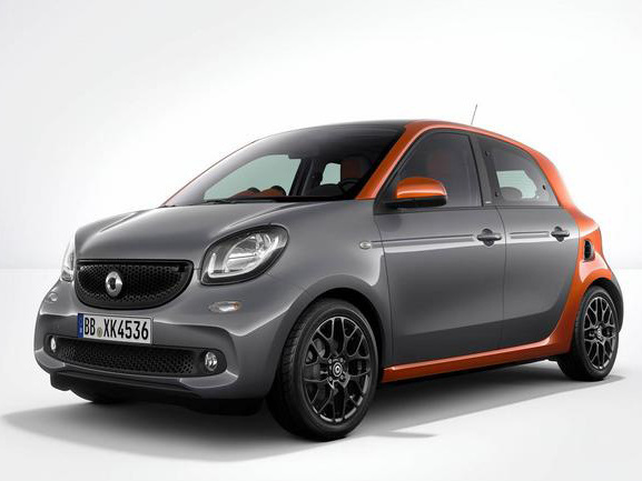 Photo smart forfour 2020
