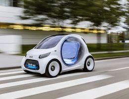 Smart Fortwo Vision Eq Concept