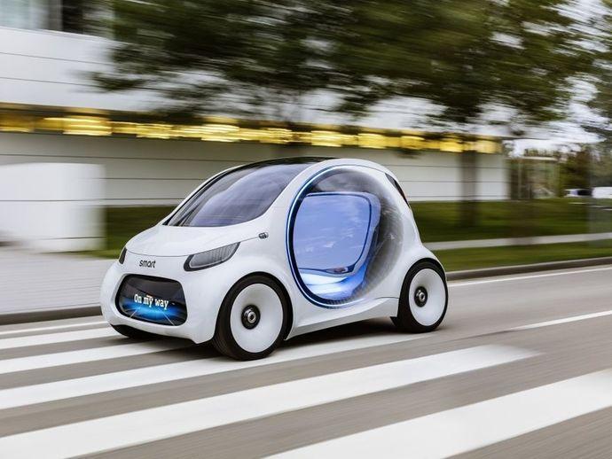 SmartFortwo Vision Eq Concept