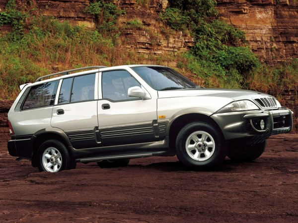 Photo ssangyong musso 1997