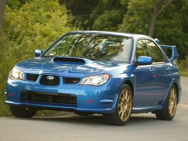 Subaru Impreza 2 Sti